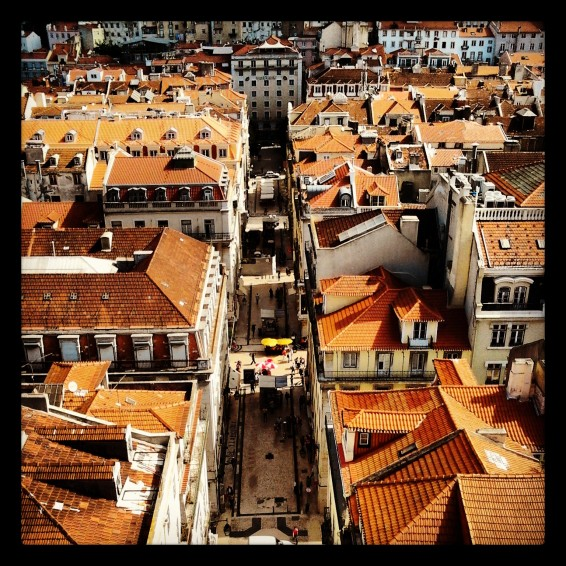 Lisboa. From Santa Justa Lift.