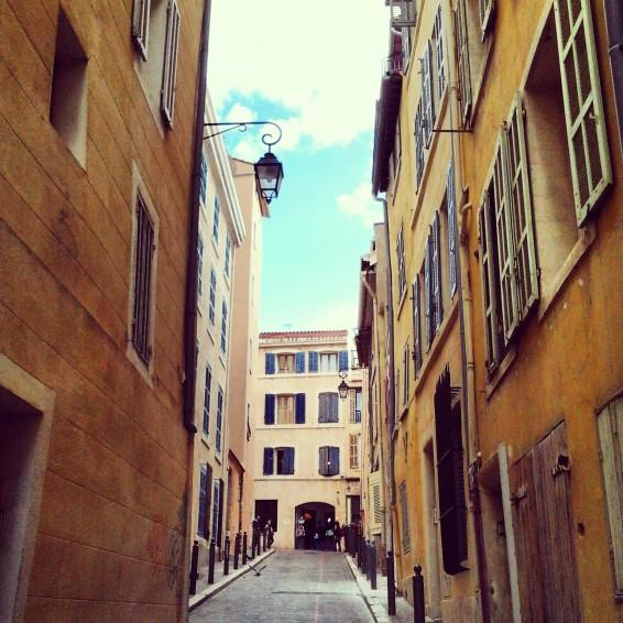 Marseille, Quartier du Panier.