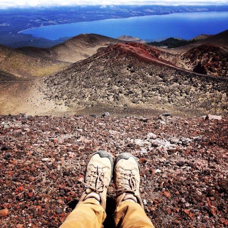 From Volcano Osorno.