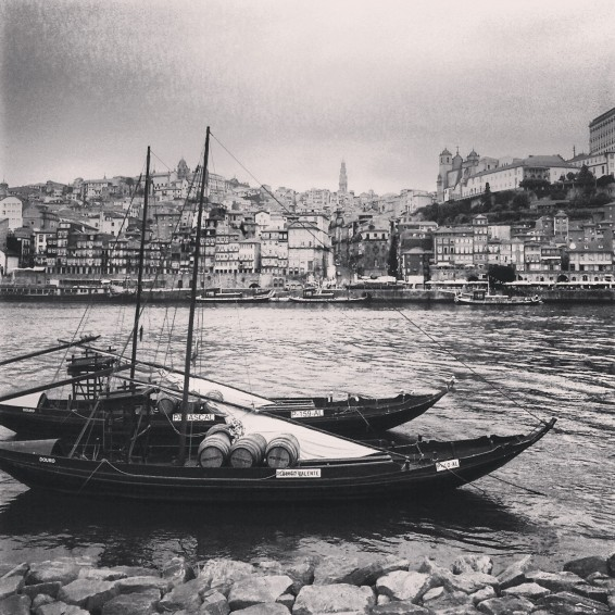 Porto. From the other side of the Douro river.