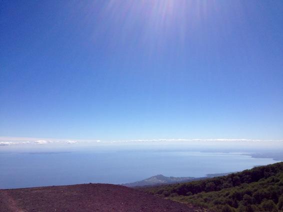On Volcano Osorno.