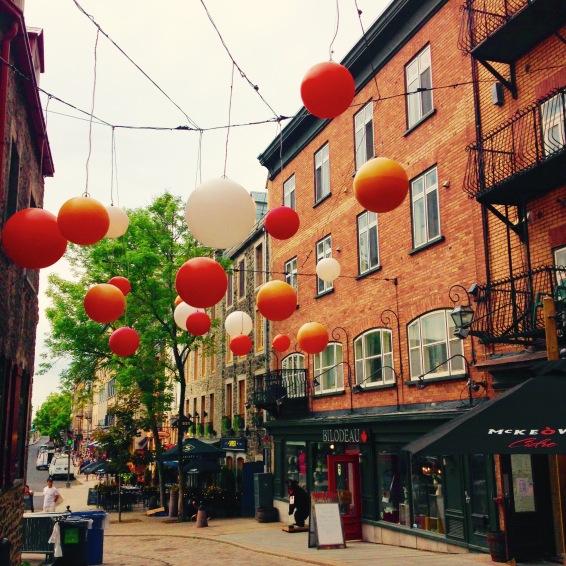 Quartier Petit Champlain.