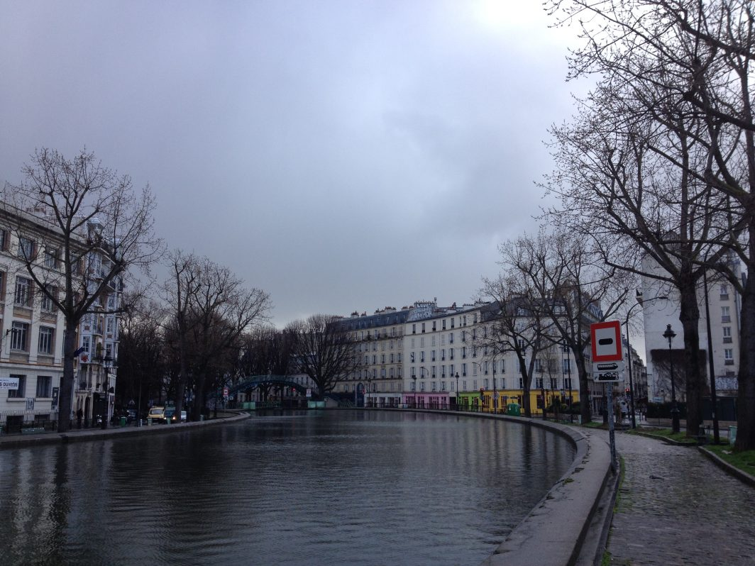 Canal Saint Martin.