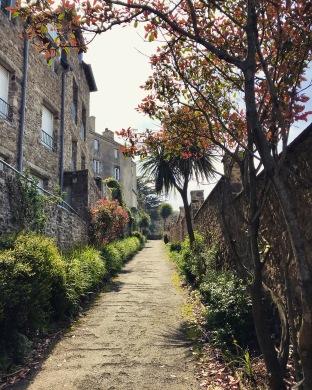 Entrance to Parc des Corbières.
